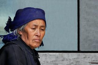13. Hani minority woman, Yuanyang, Yunna