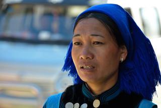 15. Hani minority woman, Yuanyang, Yunna