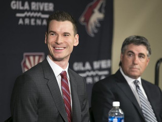 Q&A with John Chayka, HBA '14, GM of Arizona Coyotes