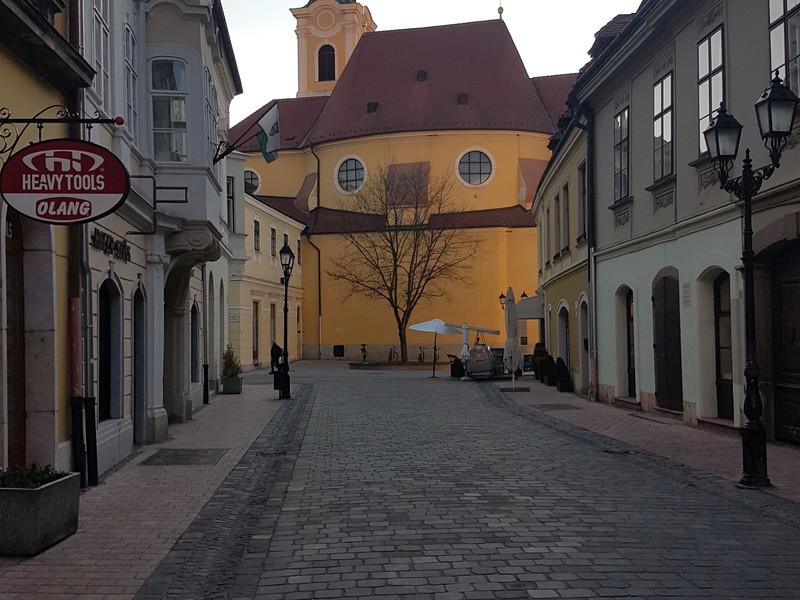 3.A győri bagoly a karmelita templom old