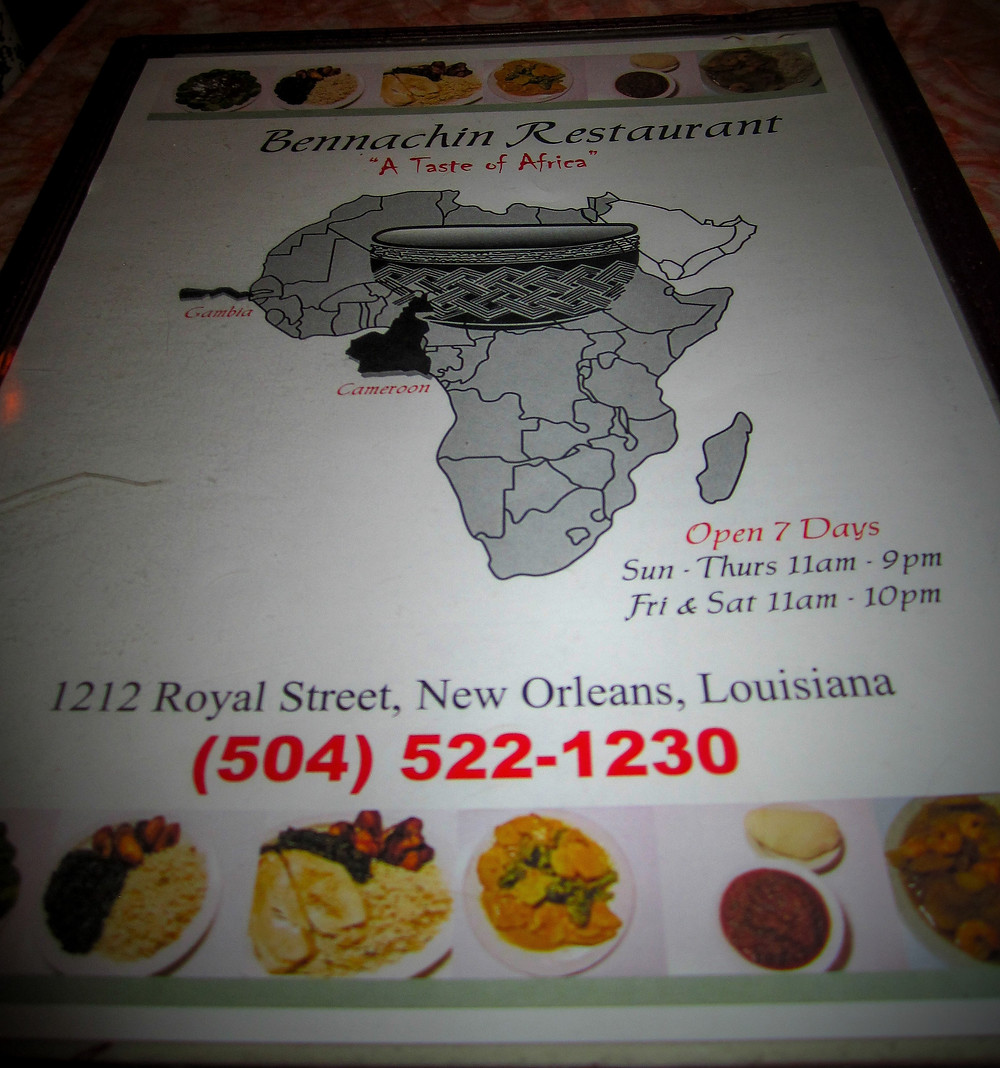 Located in the French Quarters of New Orleans African, Soul Food, Vegetarian