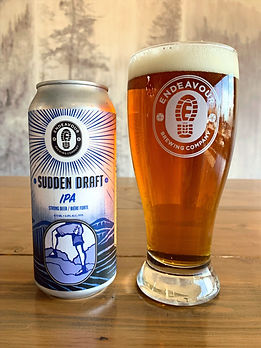 Endeavour craft beer- Sudden Draft IPA