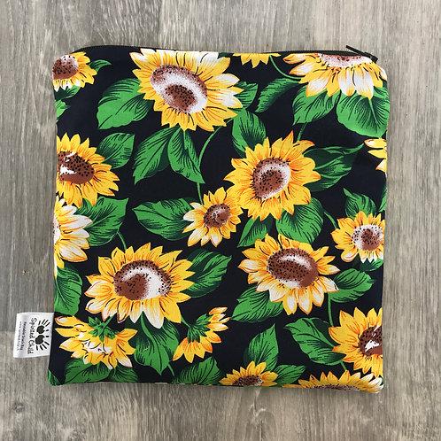 Sunflowers snack bag