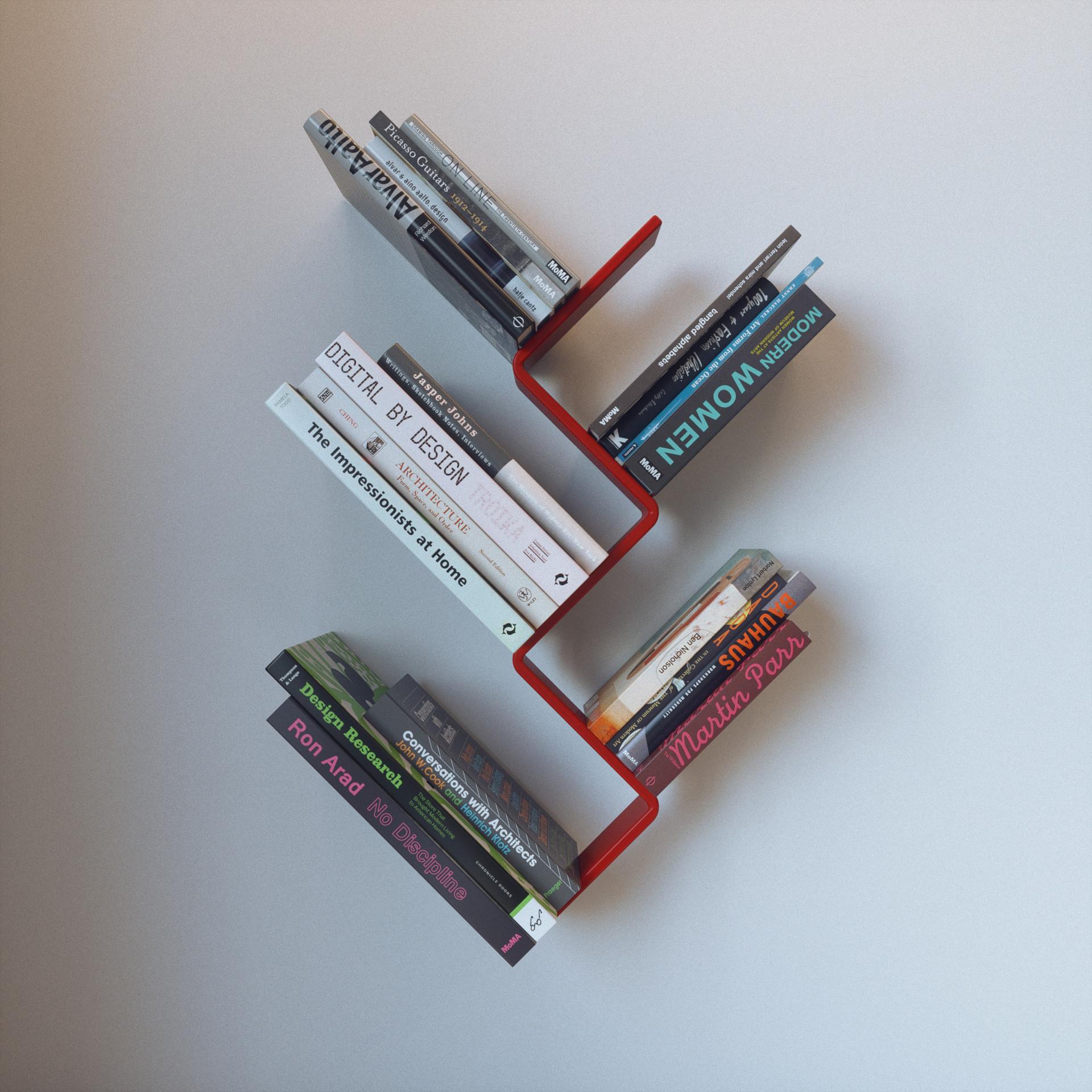 Z bookcase FAKTURA Miron Lior