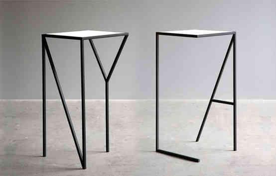 NY & LA tables  /  FAKTURA