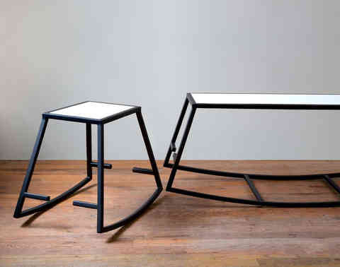 R chair & bench  /  FAKTURA