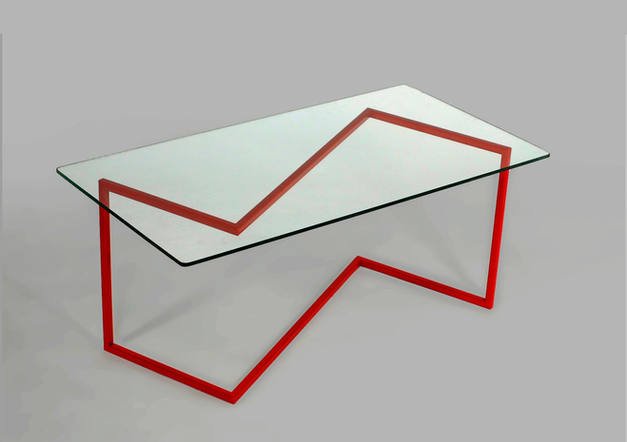 Z coffee table  /  FAKTURA