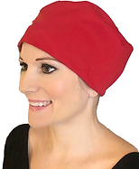 WM 195gsm Red Elastic back hat No Embroidery 1.png