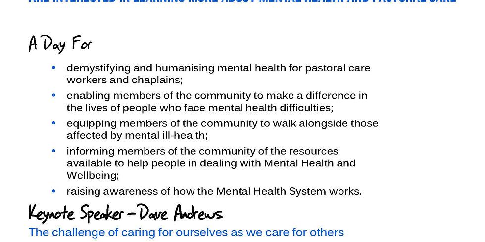 Mental Health & Pastoral Care Training
