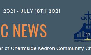 CKCC News July 18th