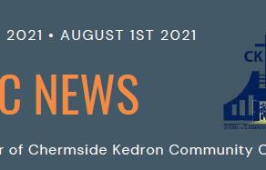 CKCC News August 1st