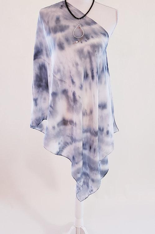 Water Color Silk Wrap