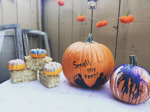 No Carve Pumpkins for Halloween
