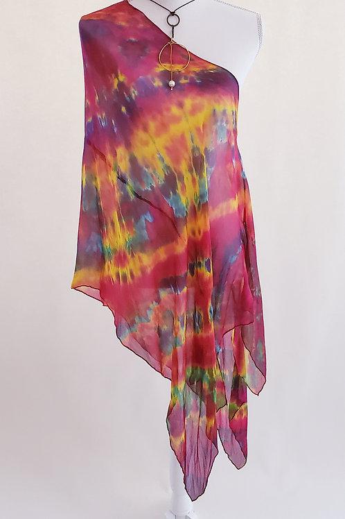 Carnival Silk Wrap