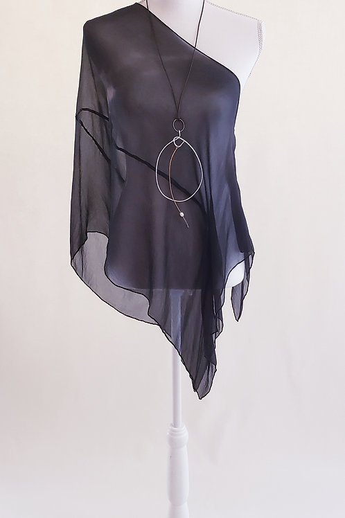 Night Sheer Silk Wrap