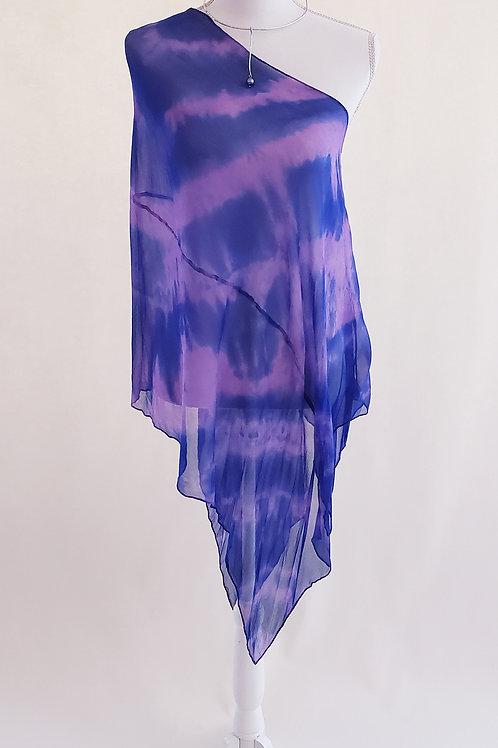 Dusky Night Silk Wrap