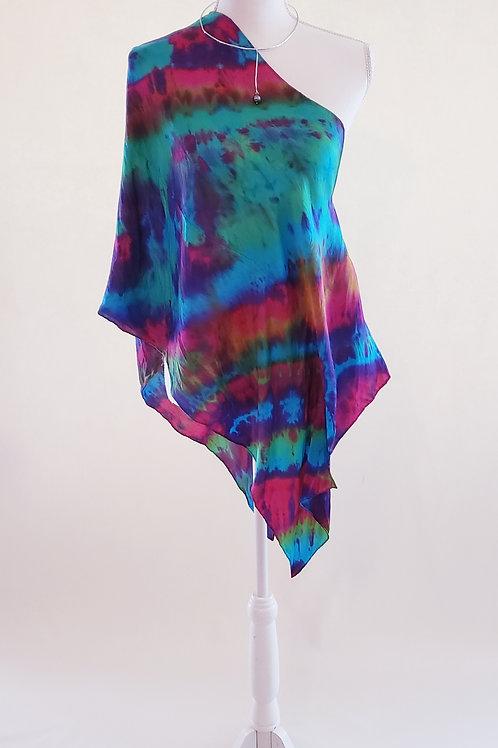 Somewhere Over the Rainbow Silk Wrap