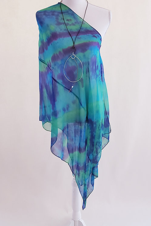 Exuma Sound Silk Wrap