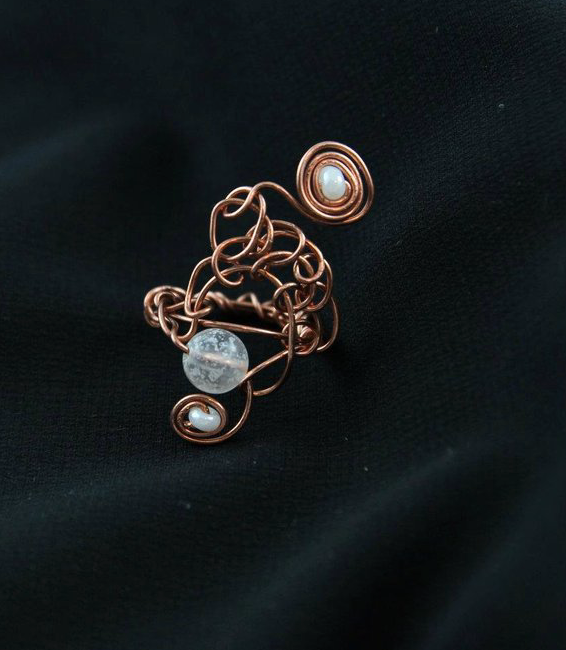Briar Moon Copper Ring