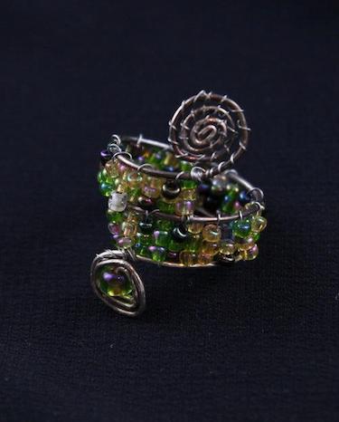 Flora Beaded Ring