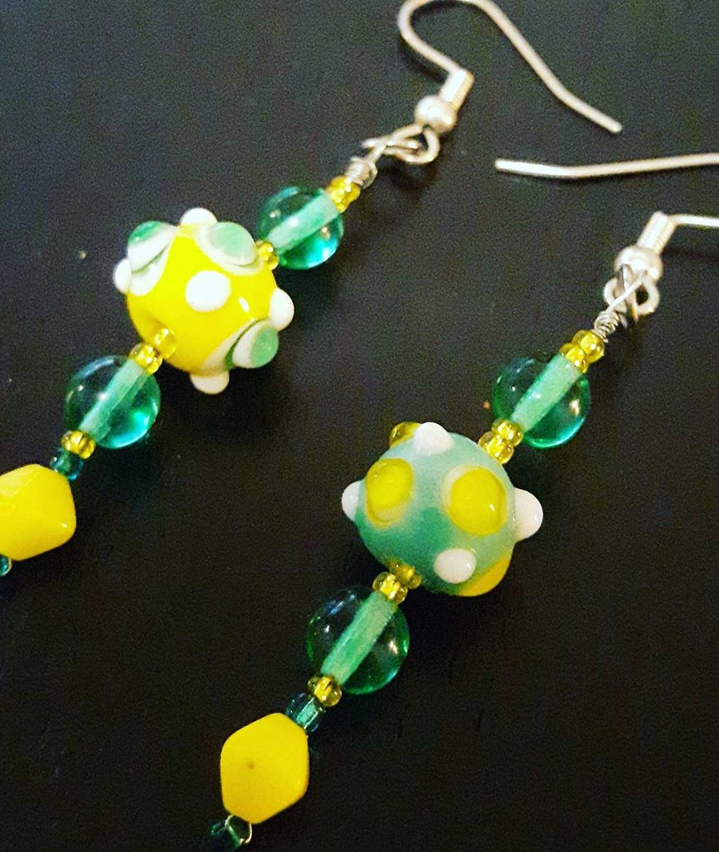 Fand's Garden Earrings