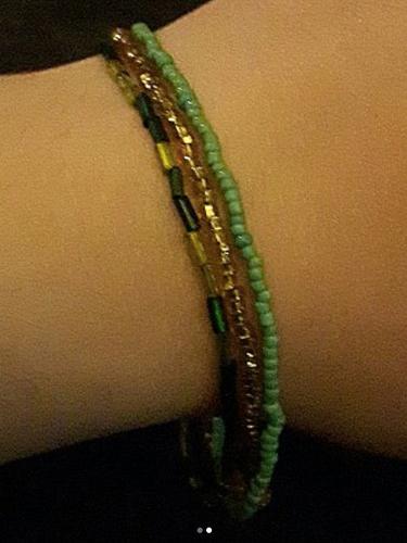 Forest Fairy Beaded Bracelet