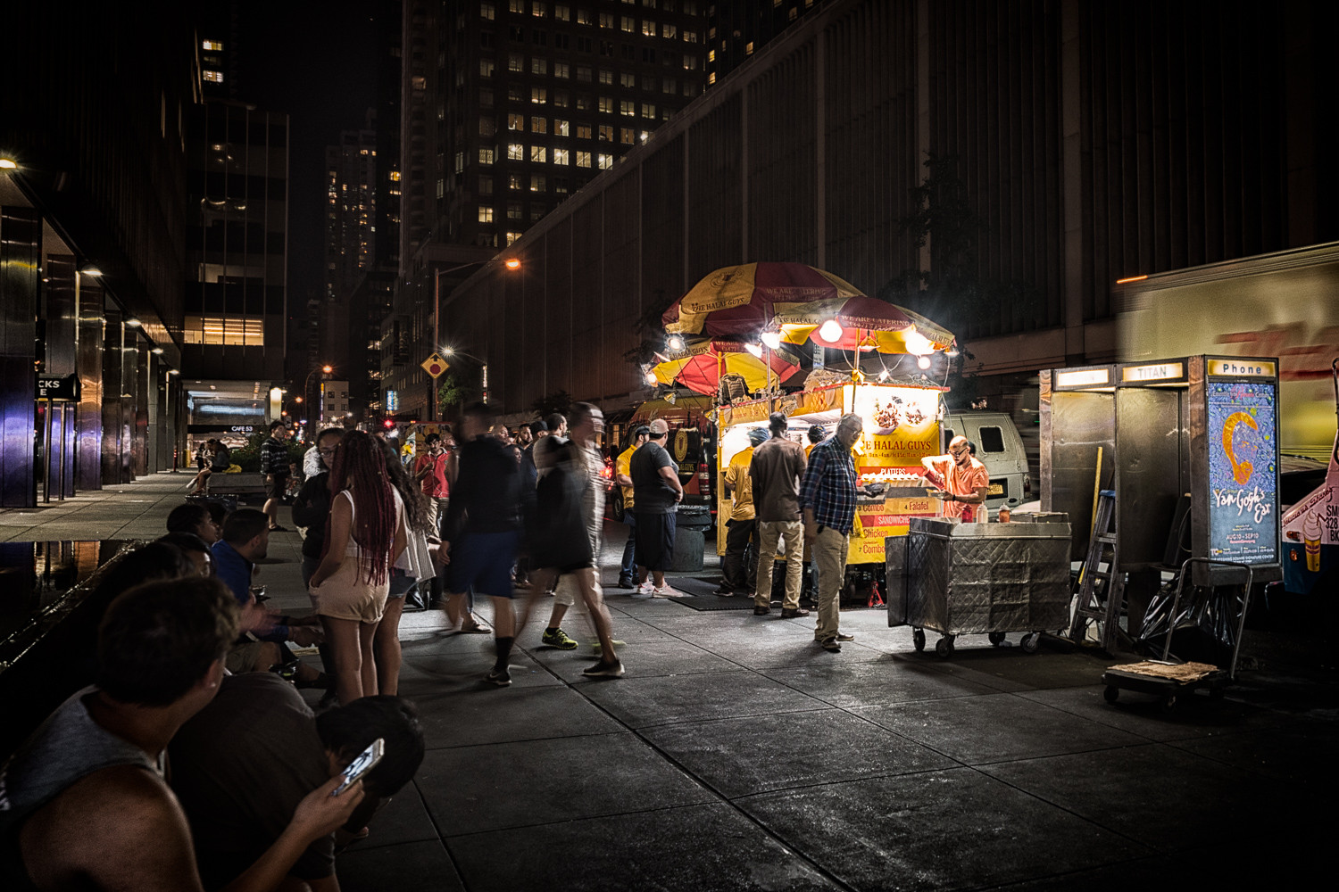 New York Street Food by RJ Photo