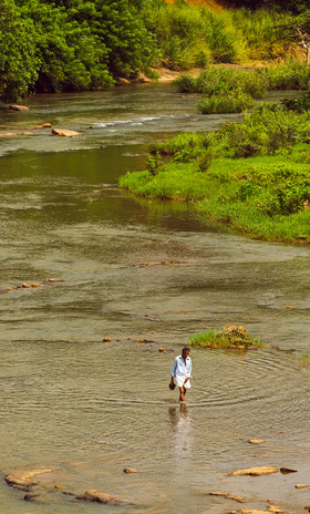 River Crossing by RJ Photo