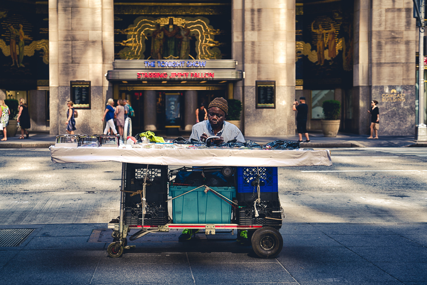 Street Vender by RJ Photo