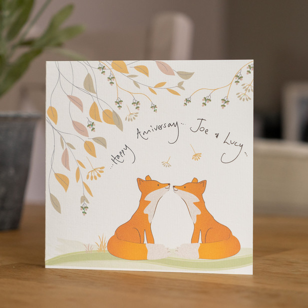 Personalised Handmade Card by Lozziwoo