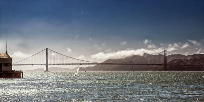 Golden Gate Bridge in the Sun