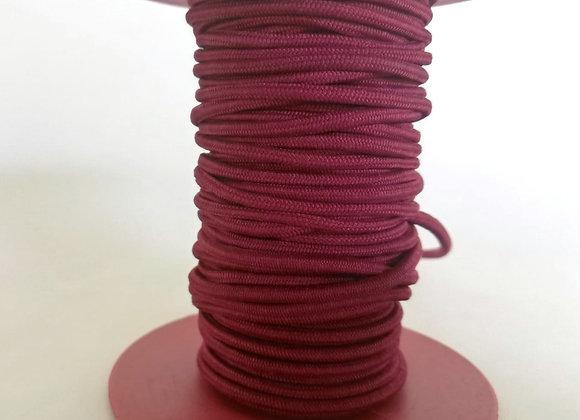 2.0mm Kırmızı Örgülü Lastik (20mt)
