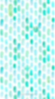 Smartphone-Wallpaper Aquarell türkis, Kaktus