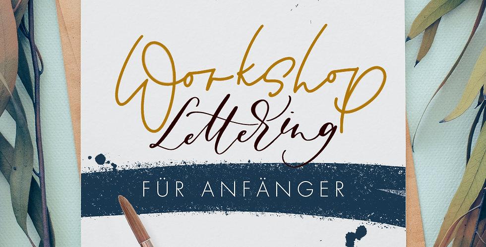 BRUSHLETTERING-WORKSHOP FÜR ANFÄNGER | 05.12.2020, 10-14 Uhr