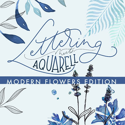 Workshop Lettering meets Aquarell - mode