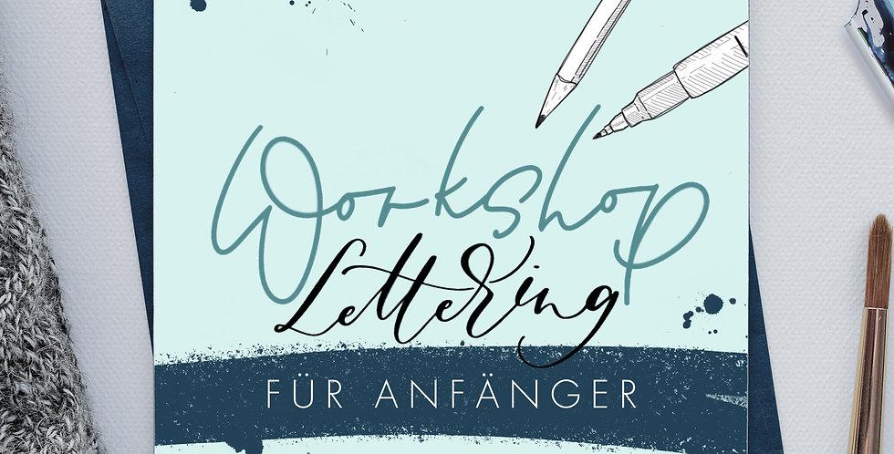 BRUSHLETTERING-WORKSHOP FÜR ANFÄNGER | 21.11.2020, 10-14 Uhr