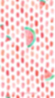 Smartphone-Wallpaper Aquarell rot, Melonen