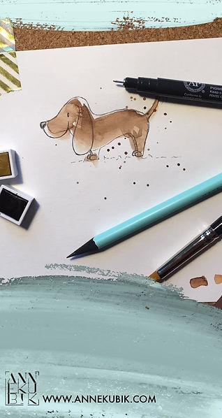 Wie man einen Hund zeichnet