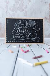 Chalklettering-Workshop