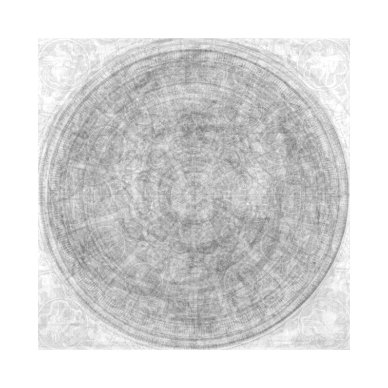 Circulos de la obra de arte (transparenc