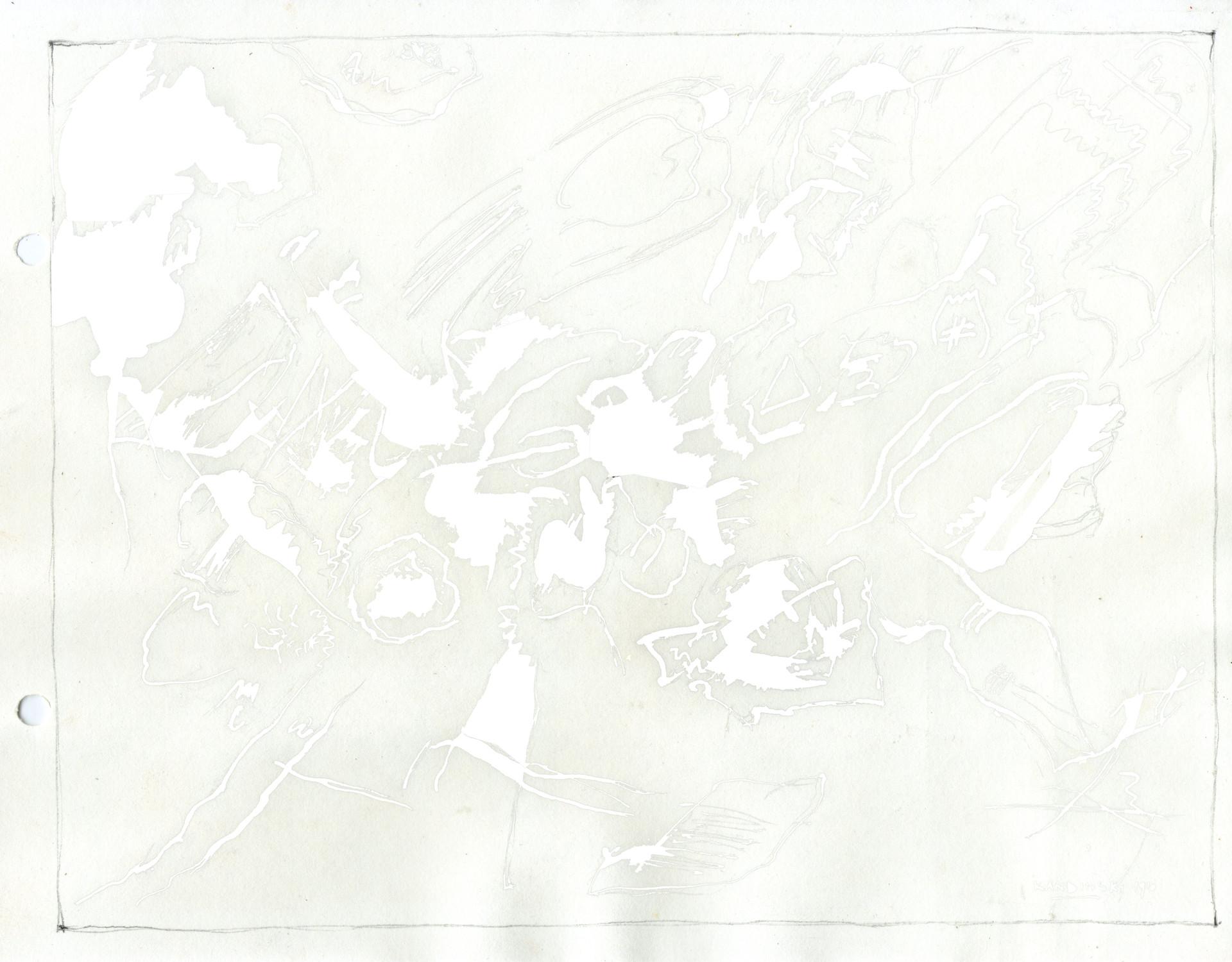 Kandinsky - borrado digital de las linea