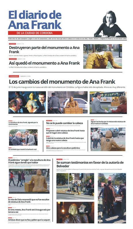 Diario de Ana Frank de la Ciudad de Cord