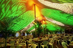 SamSons Tent Diecut Lights