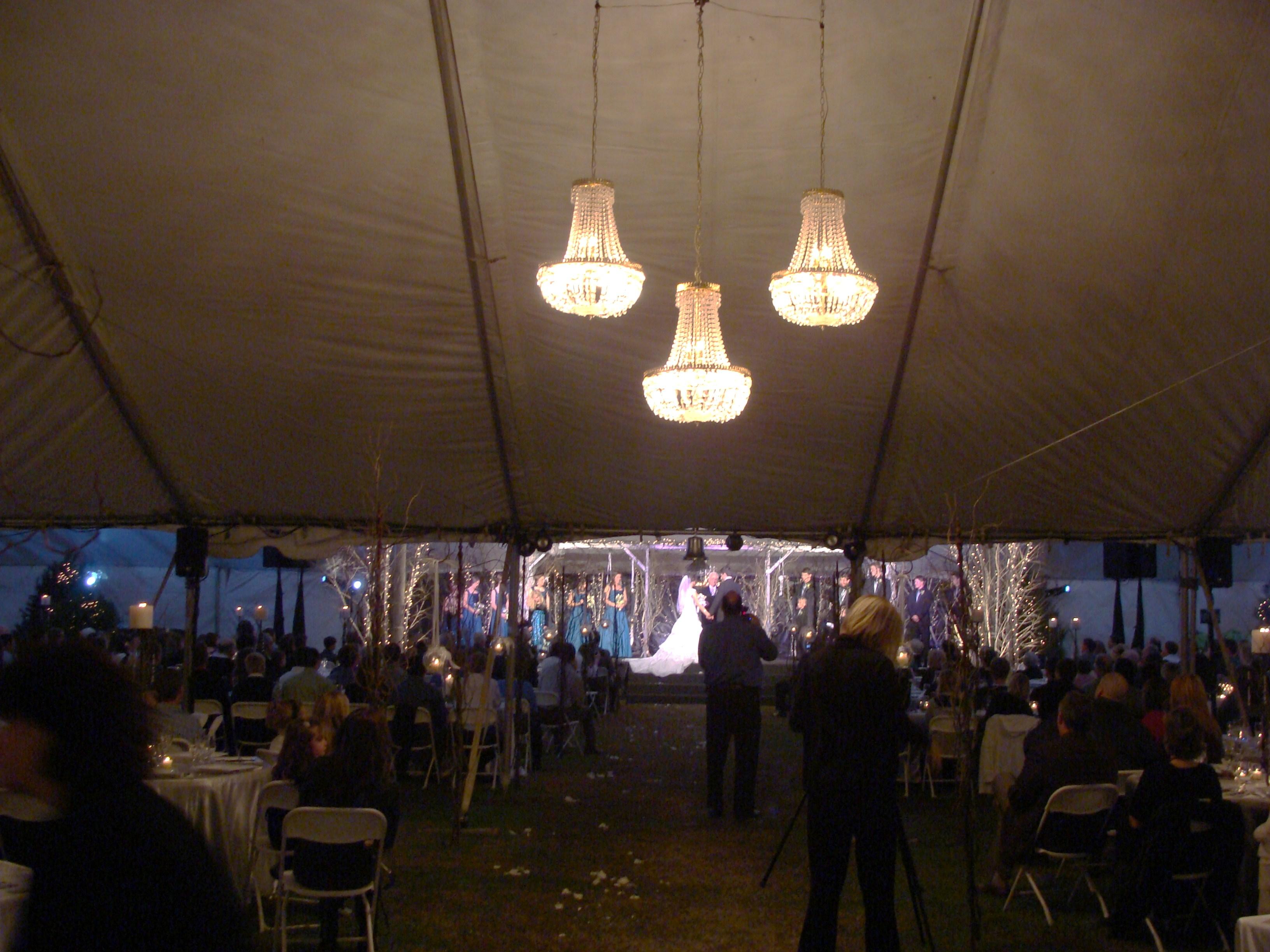 Rick Jackson Tent Chandeliers