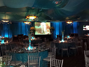 Make a Wish Tent Projection & Lighting.j