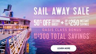 Royal Caribbean Sail Away Sale!