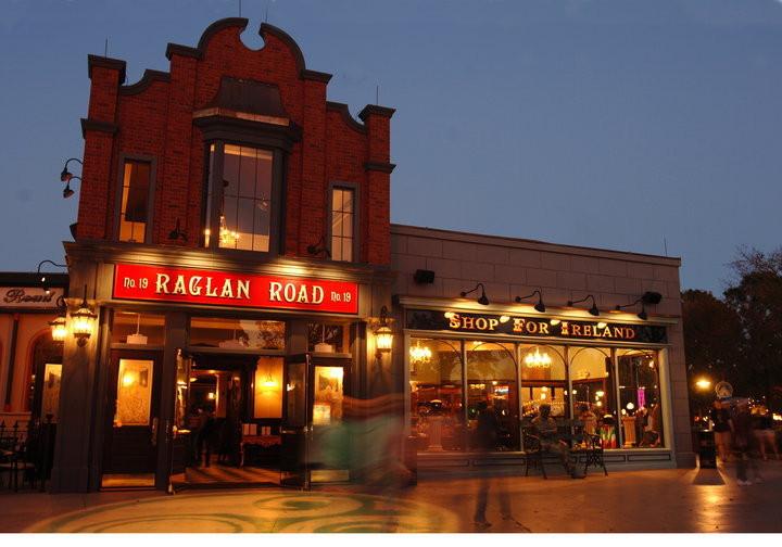 Raglan Road Irish Pub in Disney Springs