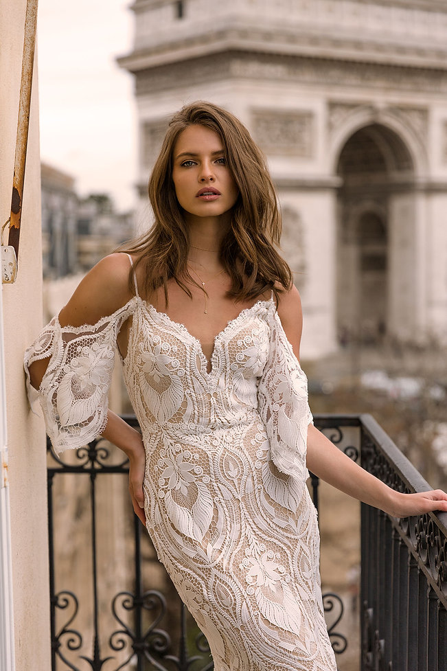 INDIA-ML4119-FULL-LACE-FITTED-GOWN-WITH-SPAGHETTI-STRAPS-AND-DETACHABLE-OFF-SHOULDER-FLUTT
