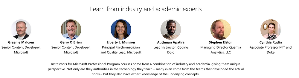 Academic experts from Microsoft