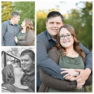 Kat & Jon, a Fall Engagement in Scott Co.